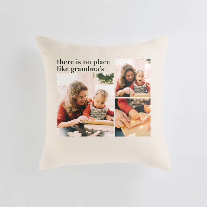 Everlasting Cheer Medium Square Photo Pillow