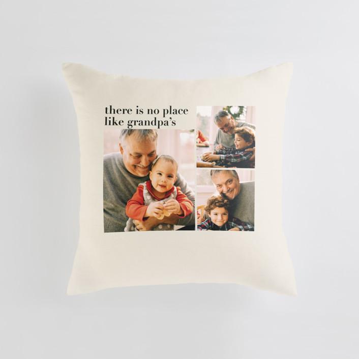 Everlasting Cheer Medium 20 Inch Photo Pillow