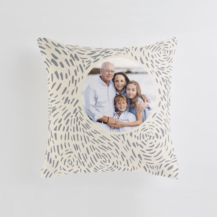 Soft Cloud Medium Square Photo Pillow
