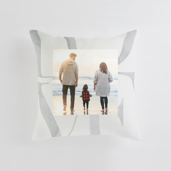 Biggest Love Medium 20 Inch Photo Pillow
