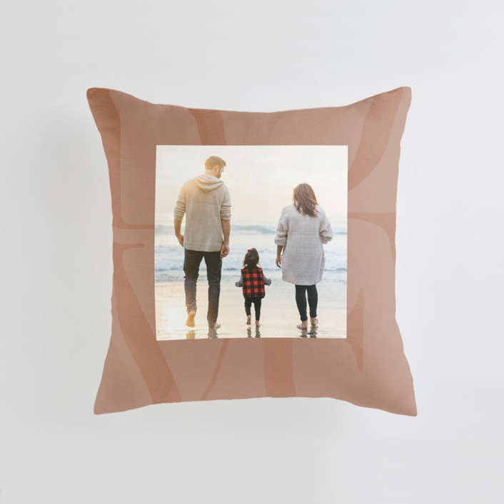 Biggest Love Medium Square Photo Pillow