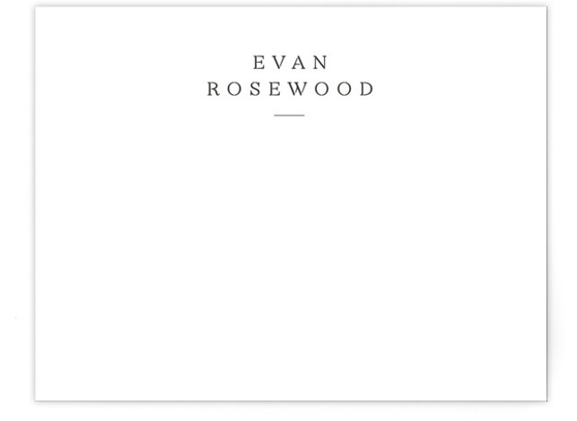 Softspoken Personalized Stationery
