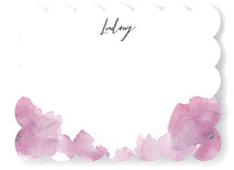 Soft Florals Personalized Stationery