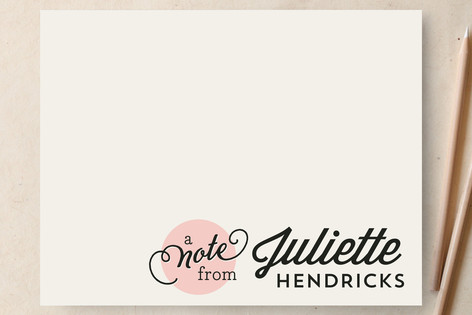 Chic  Spot Personalized Stationery