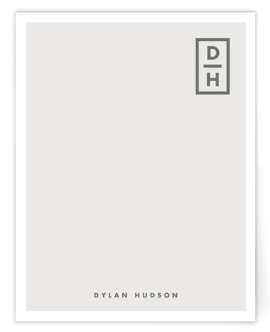 Cornered Personalized Stationery