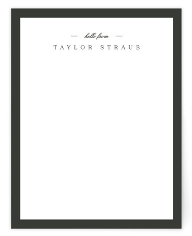 Refined Personalized Stationery