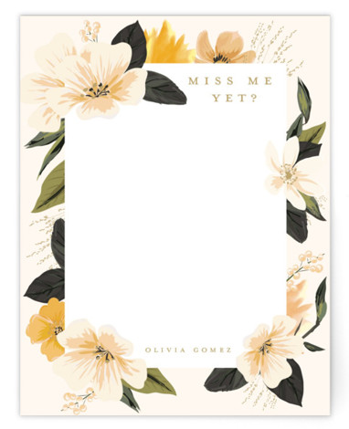 Forget me not Personalized Stationery