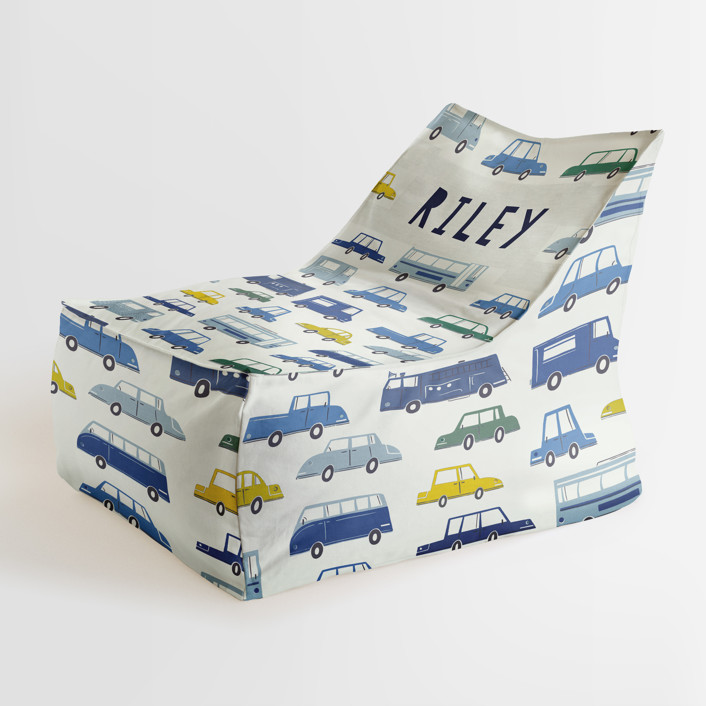 Cars and Trucks Personalizable Triangle Chairs