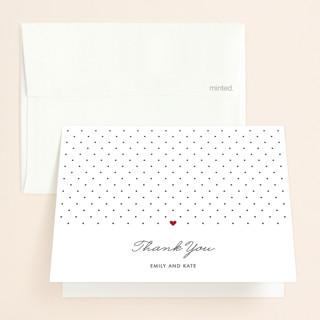 Polka Dot Bridal Shower Thank You Cards