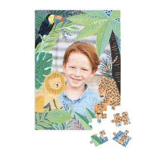 Jungle Animal Sketchbook 60 Piece Custom Puzzle
