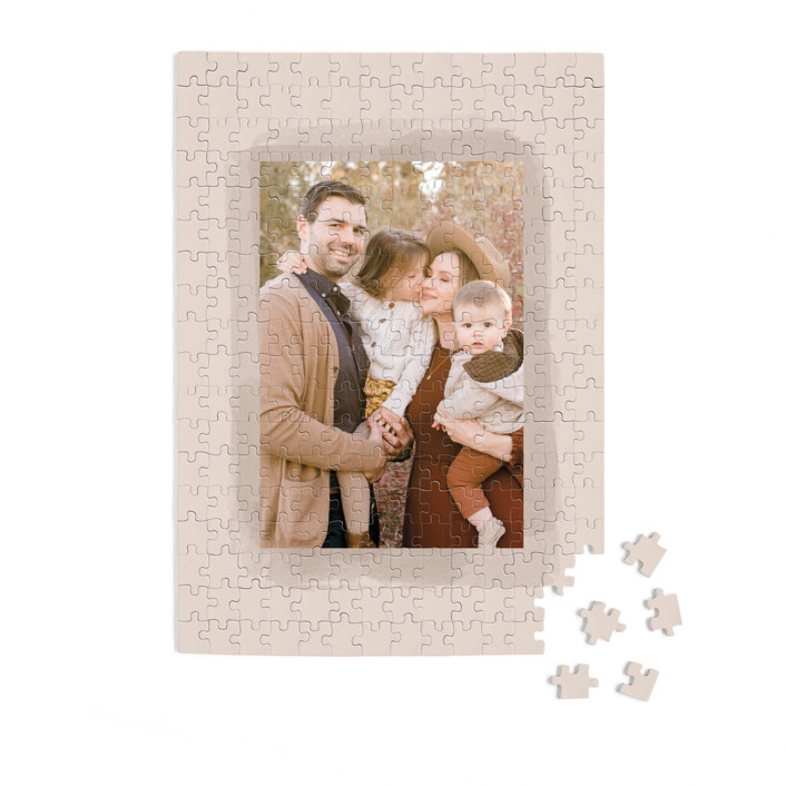 Softly Scripted 252 Piece Custom Puzzle