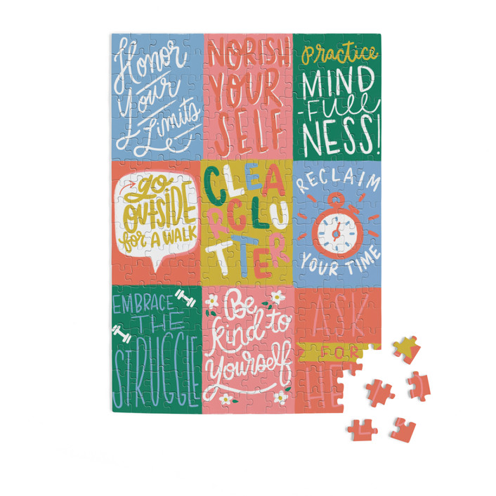 Parent Self-Care 252 Piece Art Puzzle