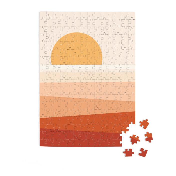 Desert Sun 252 Piece Art Puzzle