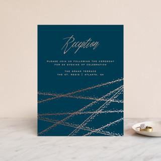 Starcrossed Foil-Pressed Reception Cards