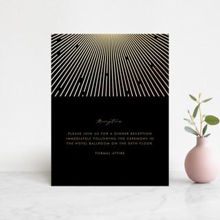 Supernova Foil-Pressed Reception Cards