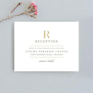 Valencay Reception Cards