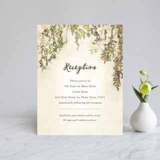 English Countryside Reception Cards