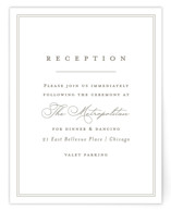 Overlapping Reception Cards
