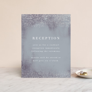 Dusted Gloss-Press™ Reception Card