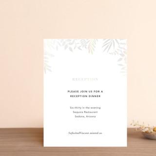 Garden Gloss-Press® Reception Card