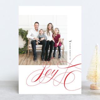 Lovely Joy Christmas Photo Cards