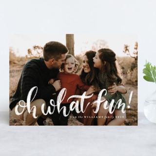 Chalky Christmas Christmas Photo Cards