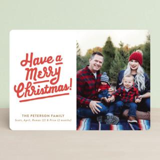 My Type of Christmas Christmas Photo Cards