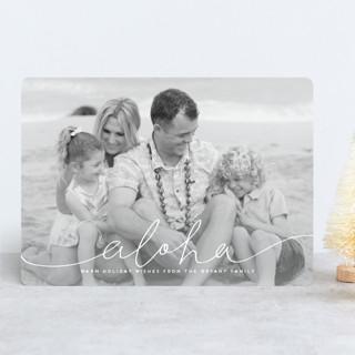 mele kalikimaka e hau'oli makahiki hou Christmas Photo Cards