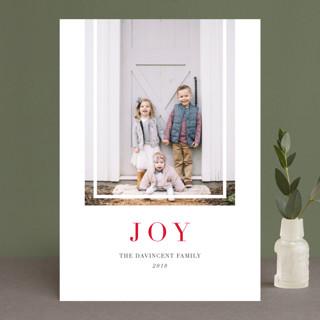 Classic Prep Christmas Photo Cards
