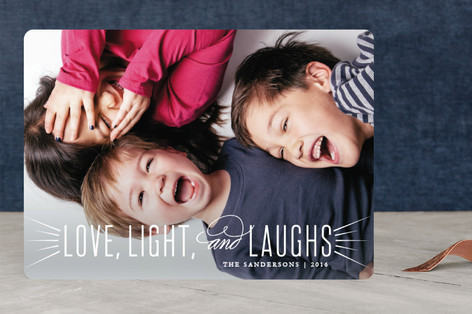 Joyful and Triumphant Christmas Photo Cards