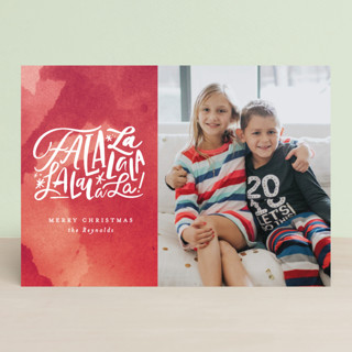 Fa La Forever Christmas Photo Cards