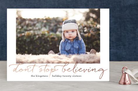 Just Gotta Believe Christmas Photo Cards