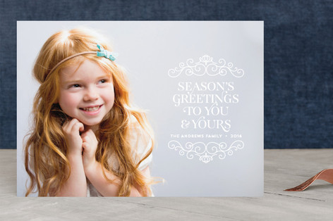 Wonderful Frame Christmas Photo Cards