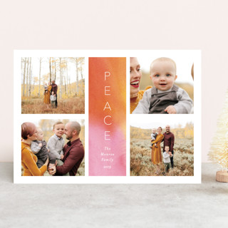 Peace Tower Christmas Photo Cards