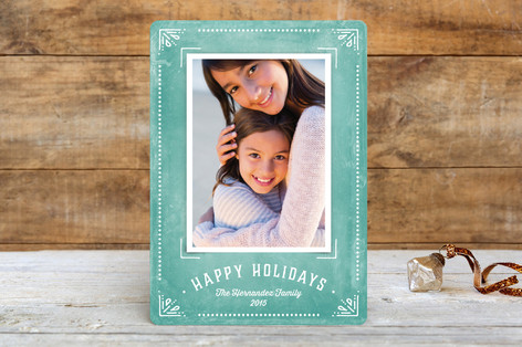 Feliz Framed Christmas Photo Cards