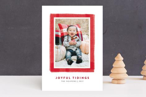 Joyful Frame Christmas Photo Cards