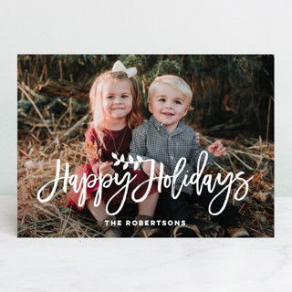 Blessings for Christmas Christmas Photo Cards