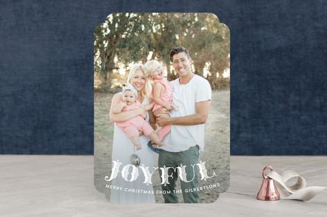 Rejoice Ornate Christmas Photo Cards