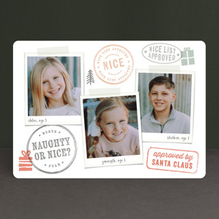 Nice List Approved Christmas Photo Cards