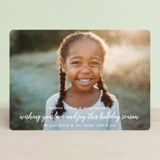 Tidings of Joy Christmas Photo Cards