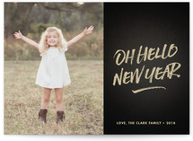 oh hello new year by Robert True of Waui Design