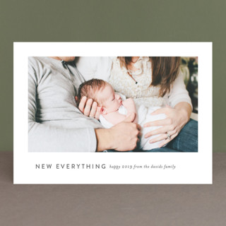 Happy heart, happy everything New Year's Photo Cards
