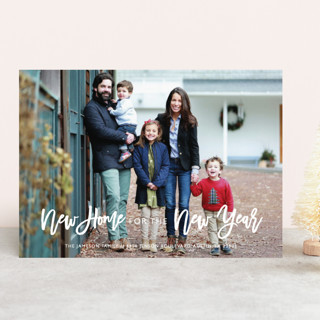 New Home New Year's Photo Cards