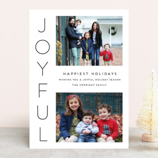 Cheerful New Year's Photo Cards
