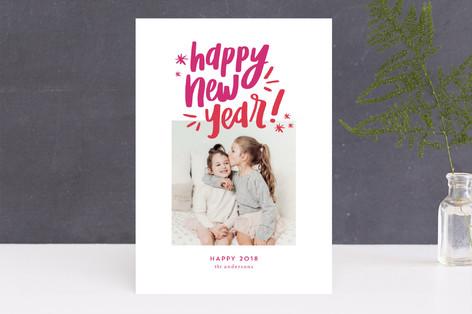 Happy & Bright New Year's Photo Cards