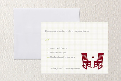 Love and Growing Old RSVP Cards