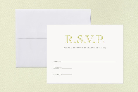 Sand and Sea RSVP Cards