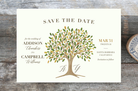 Arbor Save the Date Cards