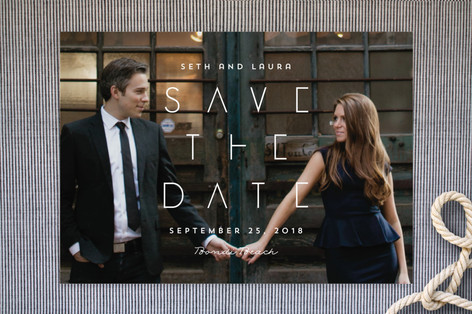 Visionary Save the Date Cards