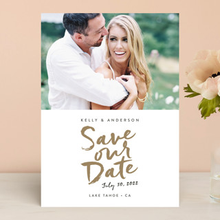 Written Save the Date Cards